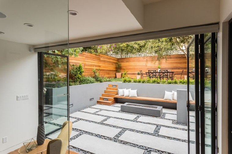arquitectura del paisaje-jardin-extension-casa-ideas