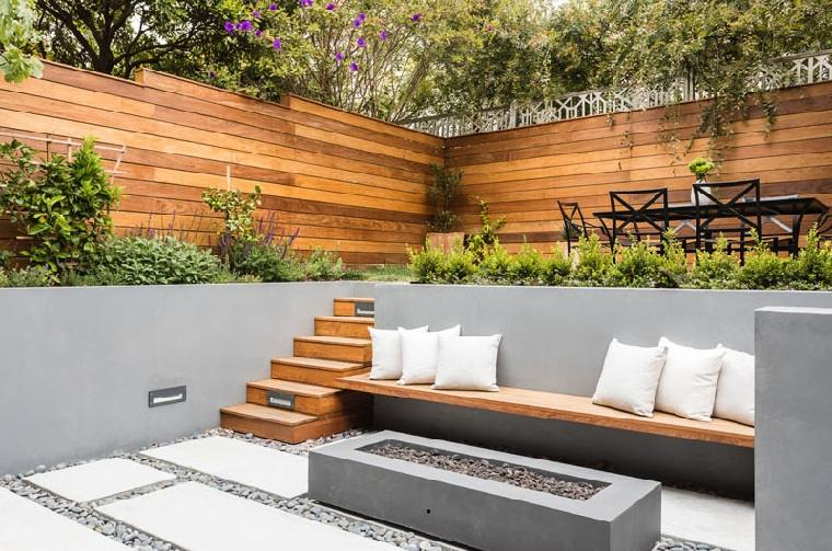 arquitectura del paisaje-jardin-niveles-ideas