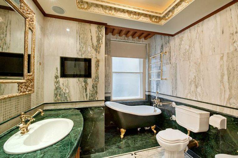 baños de mármol verde