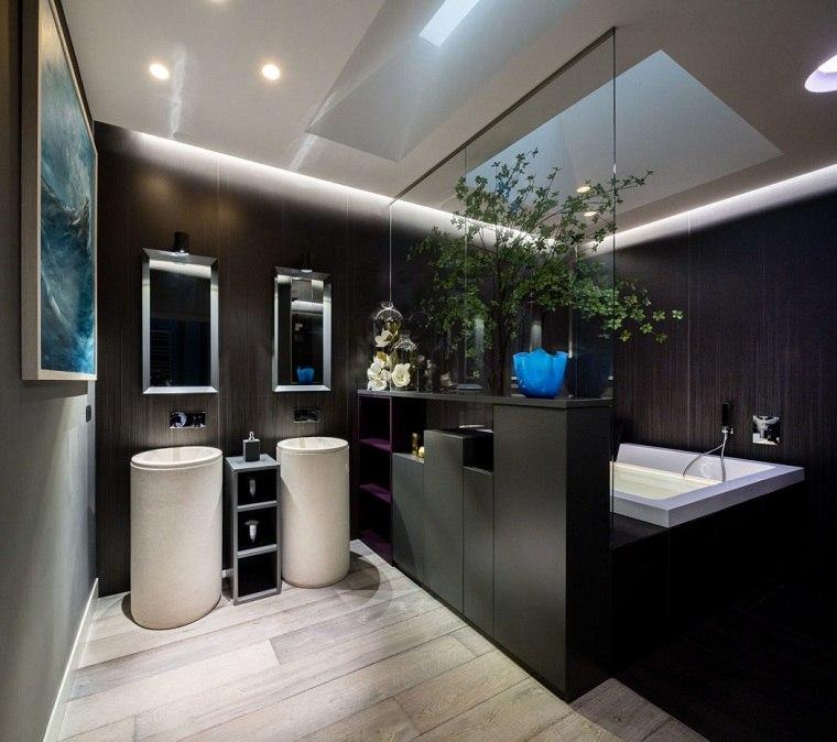 bano-negro-ideas-lavabos-blanco
