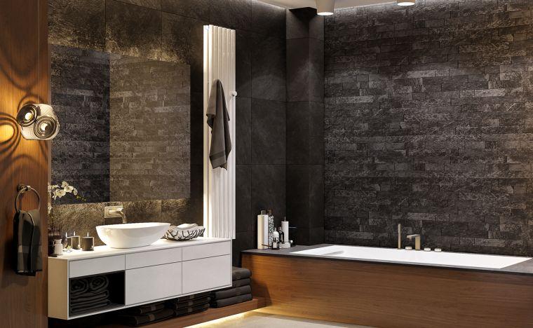 bano-oscuro-lavabo-blanco-ideas