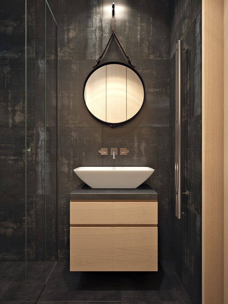 bano-pared-negra-lavabo-ideas