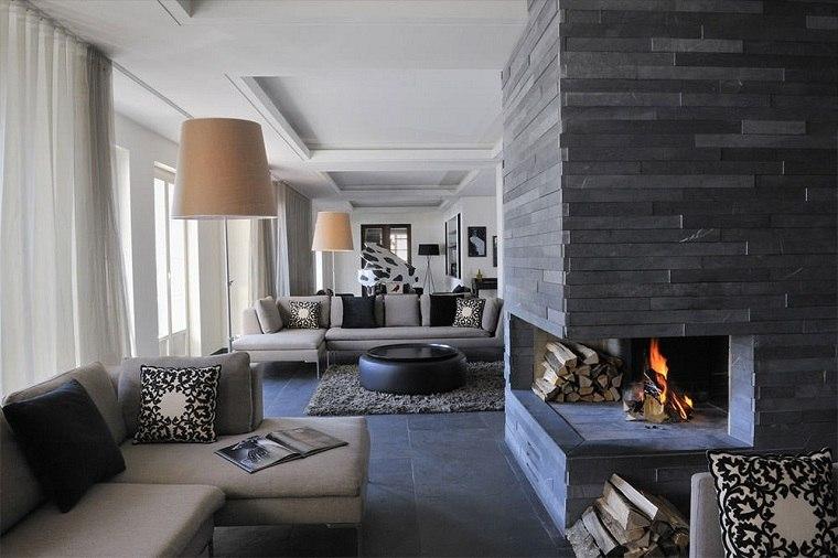 bella-chimenea-piedra-negra-estilo