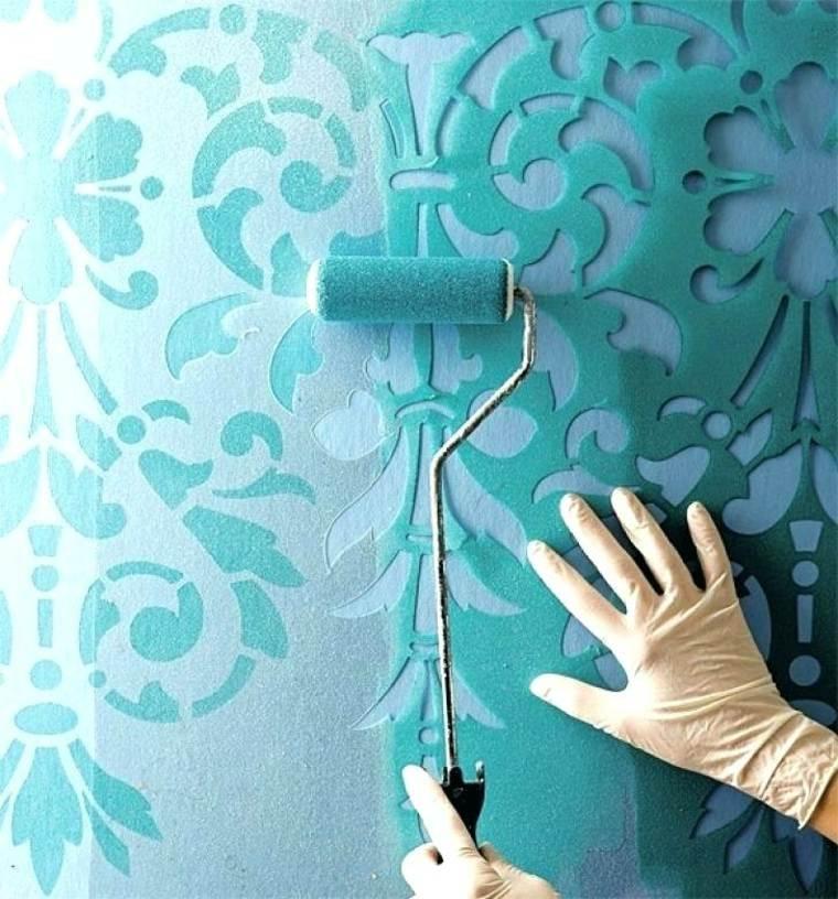cómo pintar con plantillas