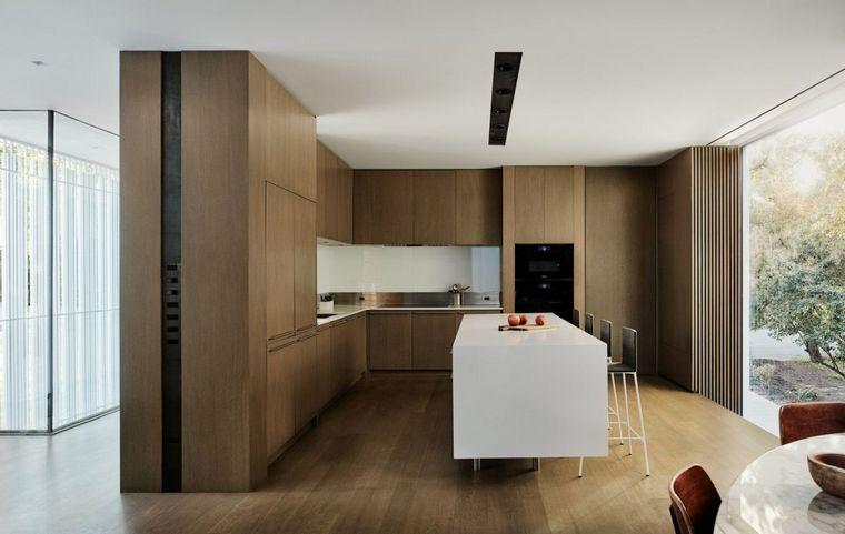 casas minimalistas modernas-Sugar-Shack-cocina