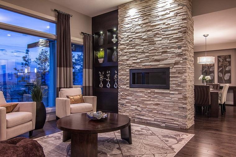 chimenea-piedras-estilo-casa-ideas