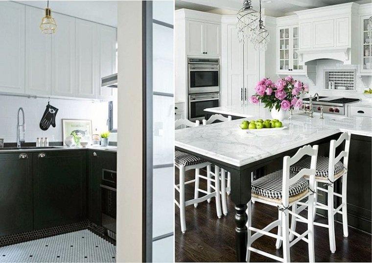 cocina-blanco-negro-mosaico