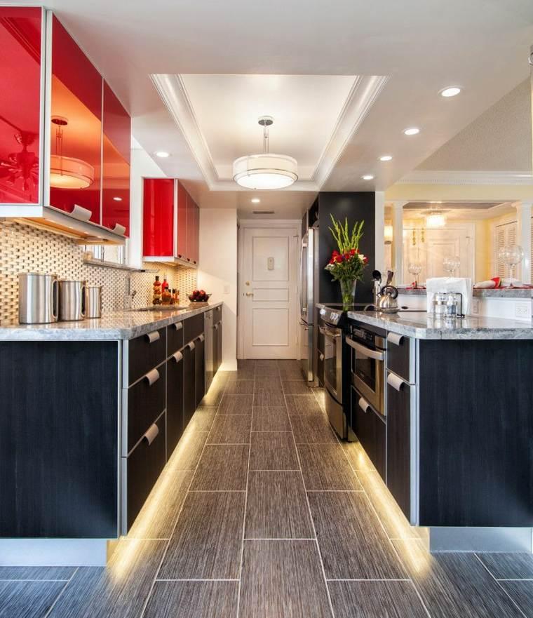 cocina-contemporanea-negro-rojo-opciones-estilo