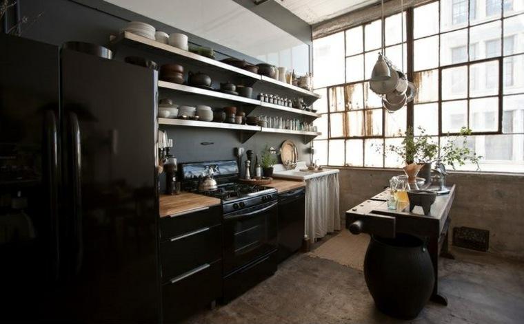 cocina-diseno-estilo-color-negro