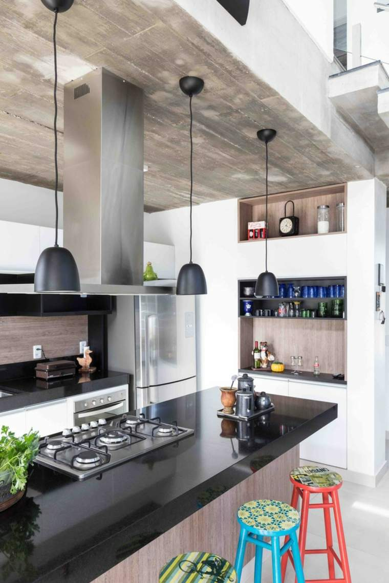 cocina-elementos-negros-opciones-estilo