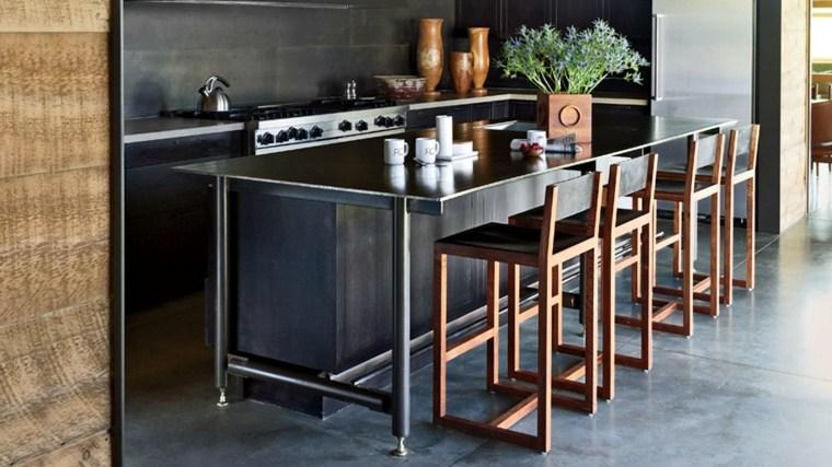 cocina-ideas-originales-diseno-negro-muebles