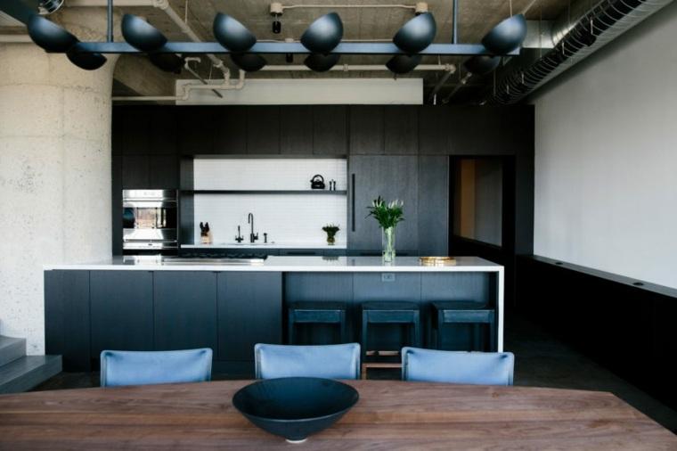 cocina negra-Kyncl-Schaller-Architekten-ideas