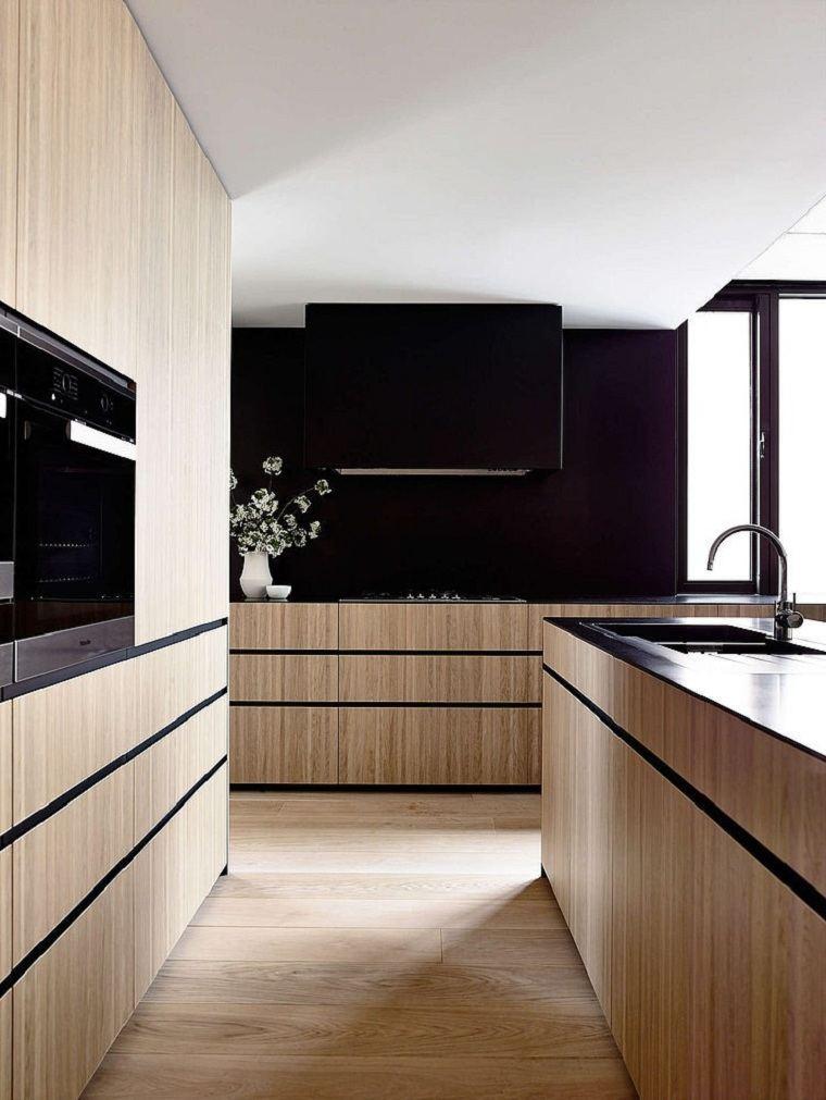cocina negra-carr-design-group