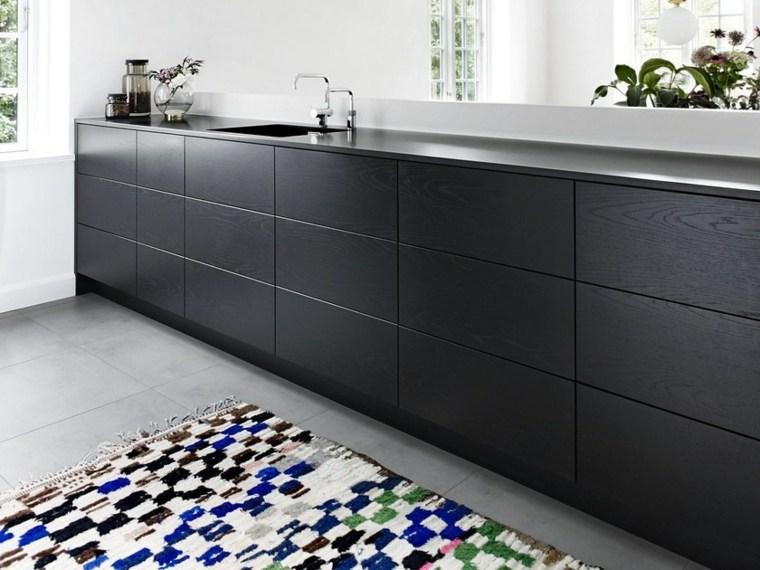 cocina-negra-estilo-ideas-madera