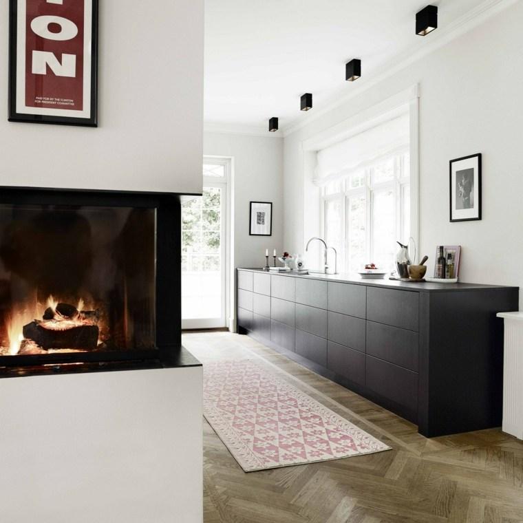 cocina-negra-estilo-simple-minimalista