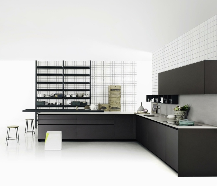 cocina-negra-forma-L-estilo