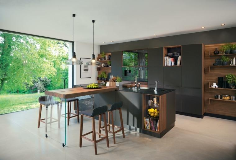 cocina-negra-muebles-estilo-ideas-originale