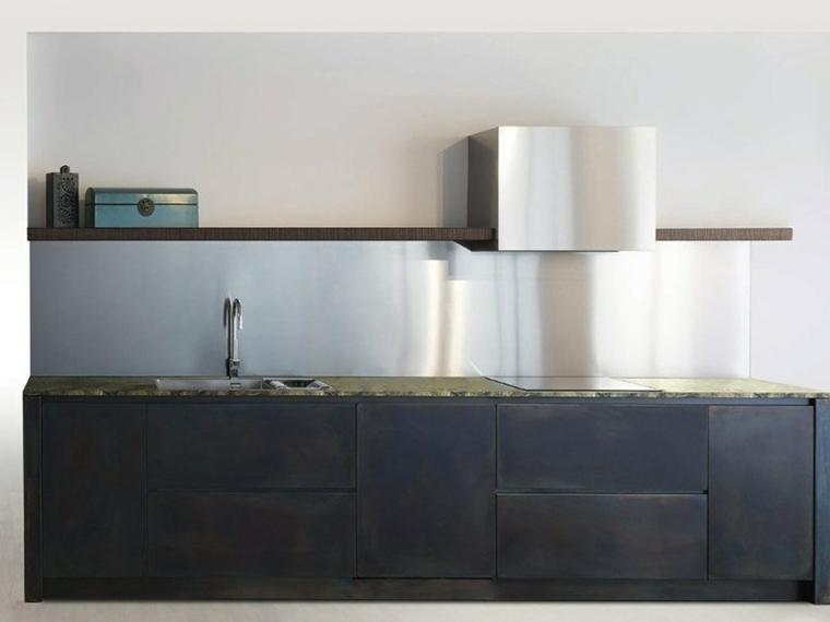 cocina-negra-salpicadero-acero-opciones
