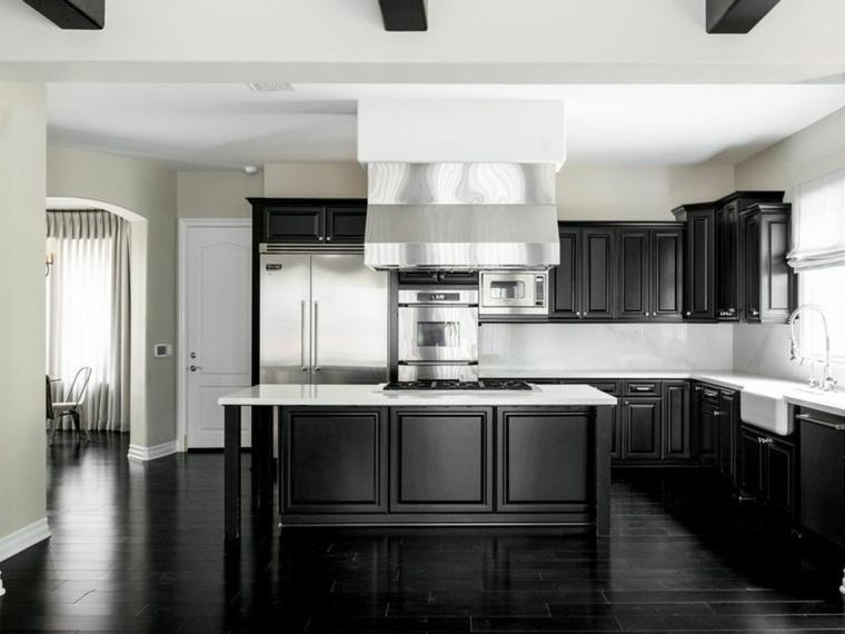 cocina-suelo-muebles-color-negro-opciones