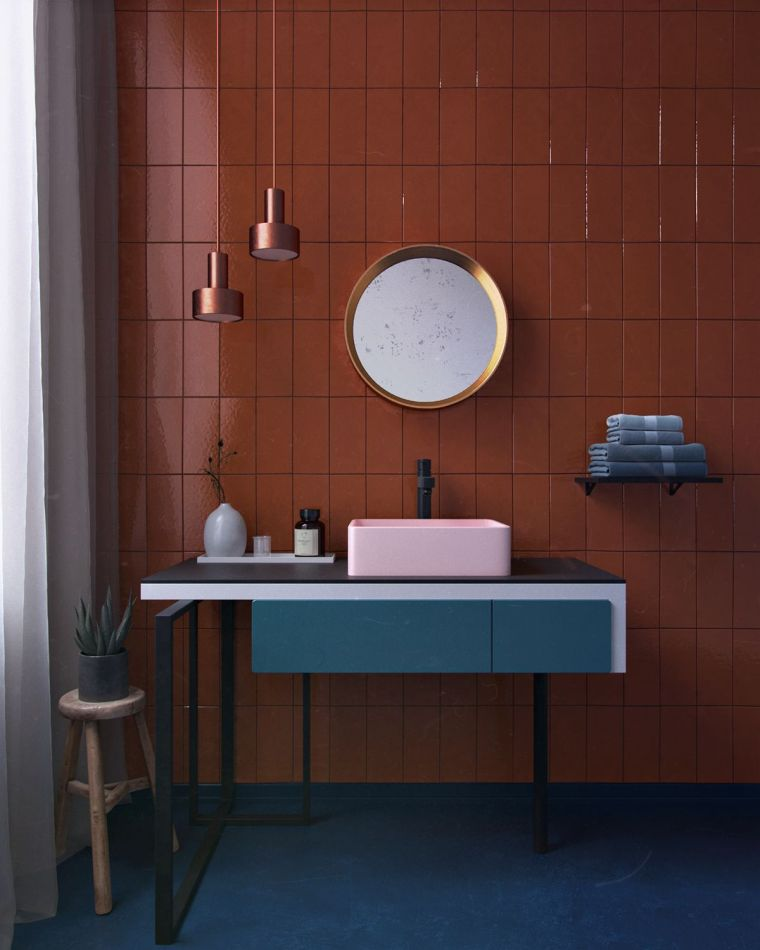 color-oscuro-losas-lavabo-ideas