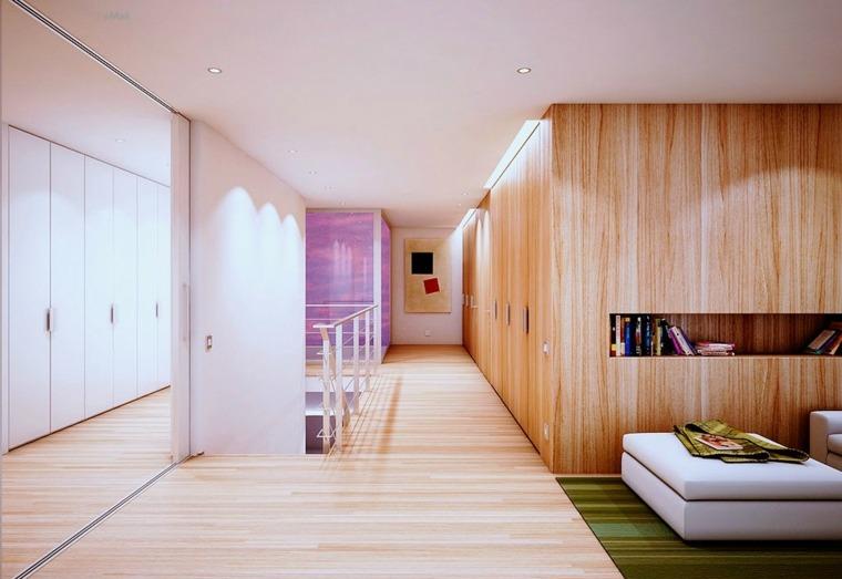 Paredes Decoradas Con Madera Un Acento Moderno En El Interior