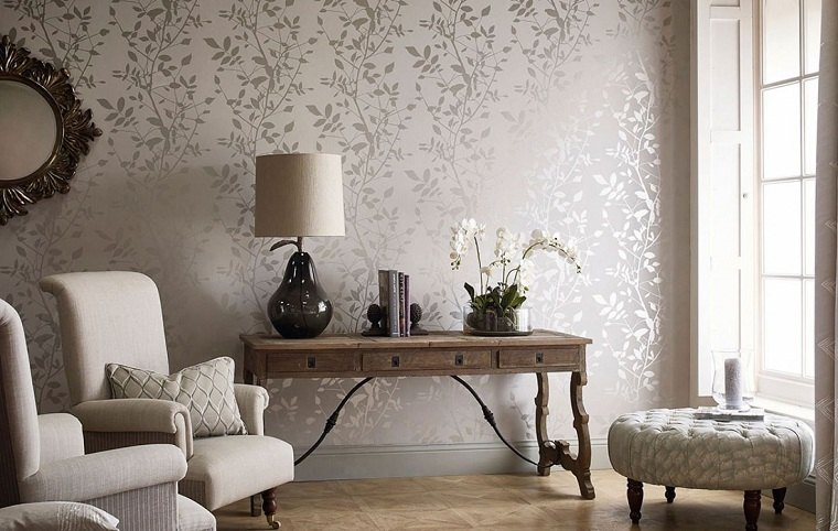 decoracion-con-papel-pintado-sala-estar