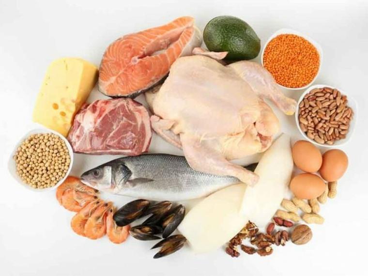Pescados y carnes
