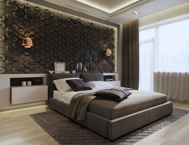 diseno-pared-ideas-dormitorio-estilo