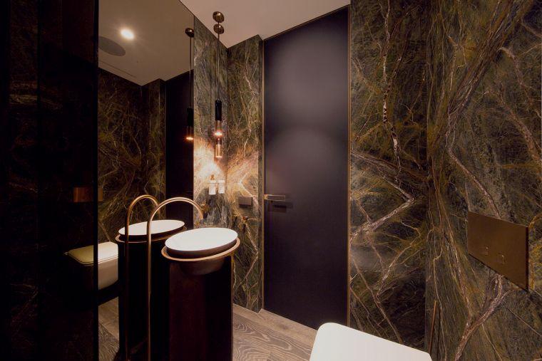 diseños de cuartos de baño-color-decoracion-lujo