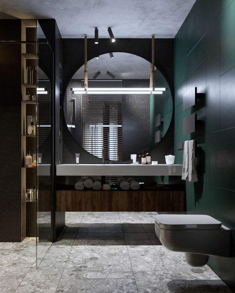 disenos-de-cuartos-de-bano-espejos