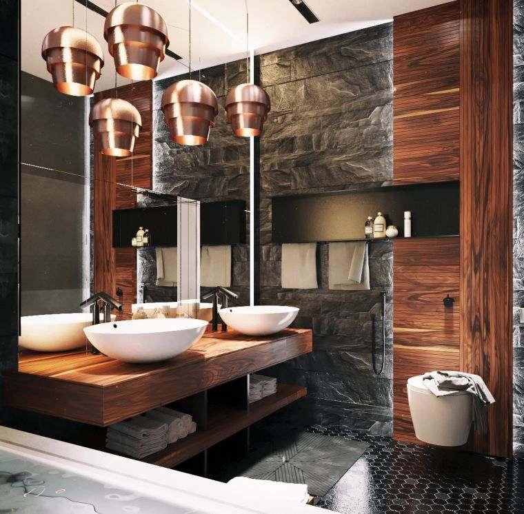 disenos-de-cuartos-de-bano-lujoso-marmol