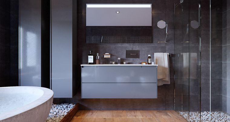 disenos-de-cuartos-de-bano-mueble-gris