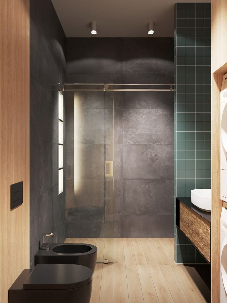 disenos-de-cuartos-de-bano-suelo-madera