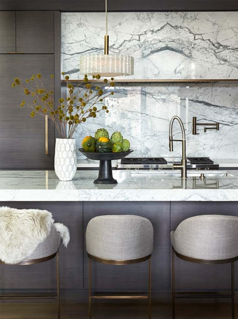 diseños para paredes-piedra-marmol-lujo