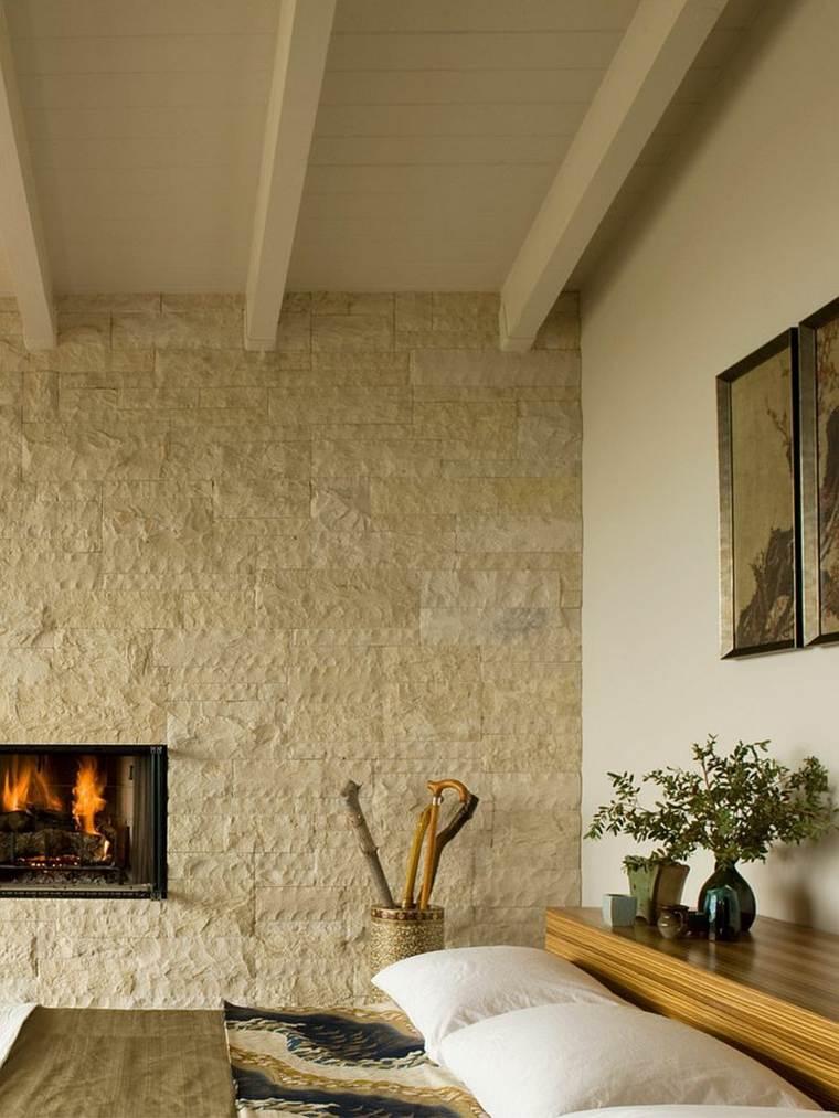 dormitorio-diseno-mediados-siglo-pared-madera