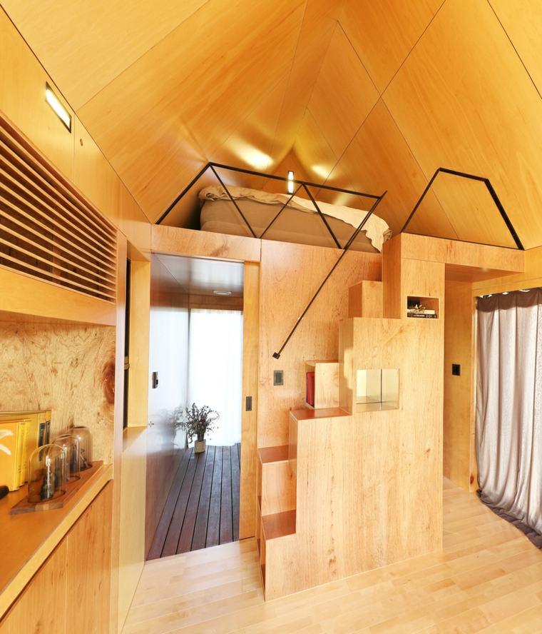 dormitorio espacio reducido