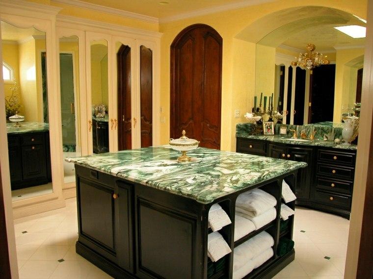 encimeras de mármol verde