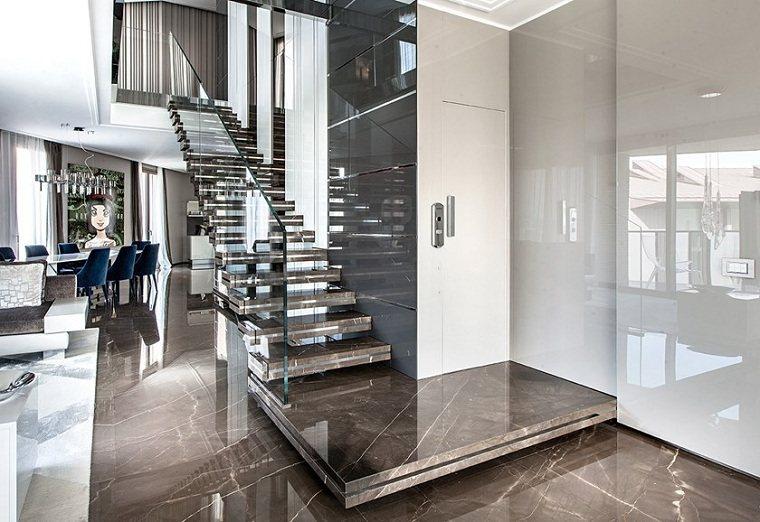 escaleras de mármol-opciones-diseno-interior