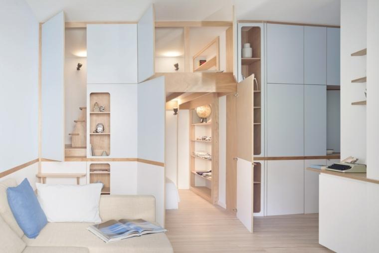 espacios reducidos almacenaje