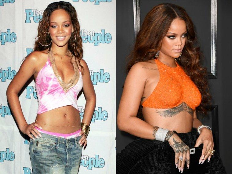 famosos Rihanna