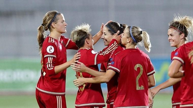 fútbol femenino-partido-ideas