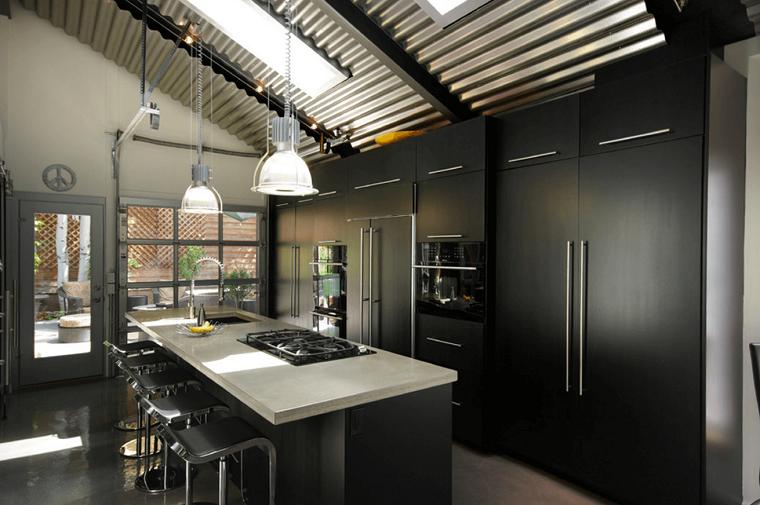 gabinetes-negros-cocina-estilo-2019