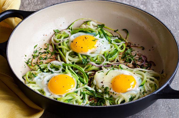 huevos verduras
