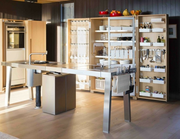 ideas  para almacenaje cocina