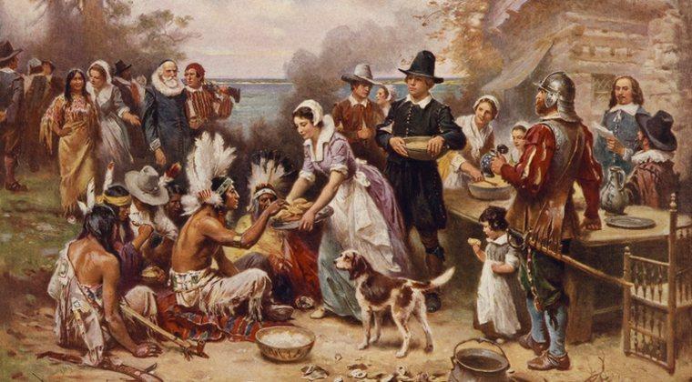 indígenas y europeos