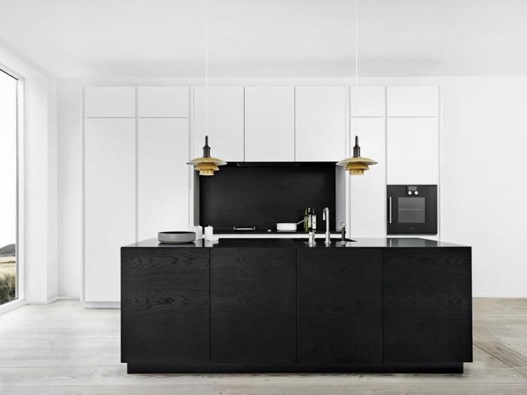 isla-salpicadero-color-negro-cocina-ideas