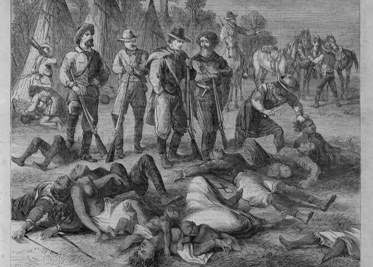 la-matanza de la población indigena