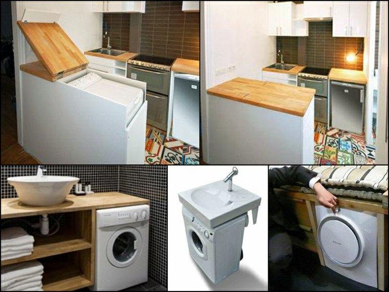 lavadora espacio reducido
