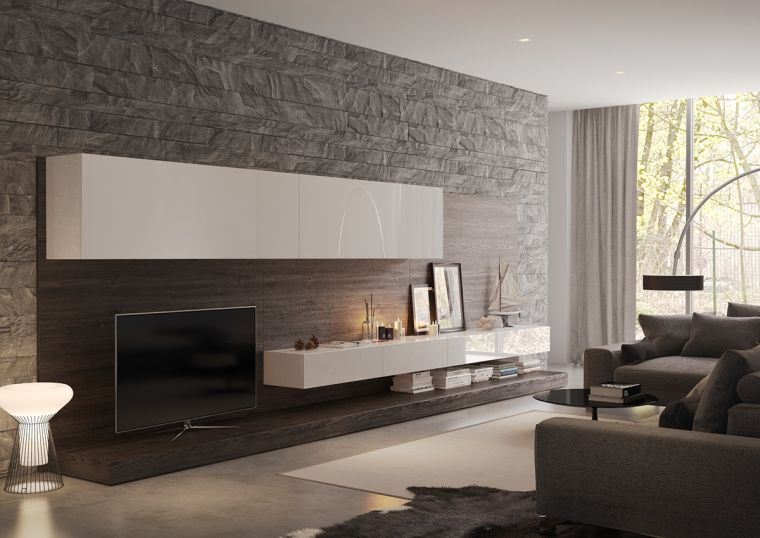 losas-imitacion-piedra-pared-salon