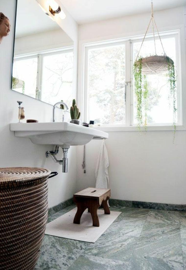 mármol verde piso de baño
